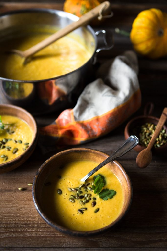 Bone broth based soup