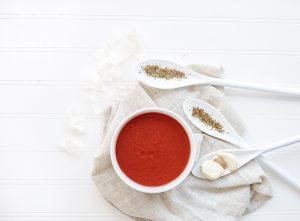Creamy Tomato Soup with Bone Broth