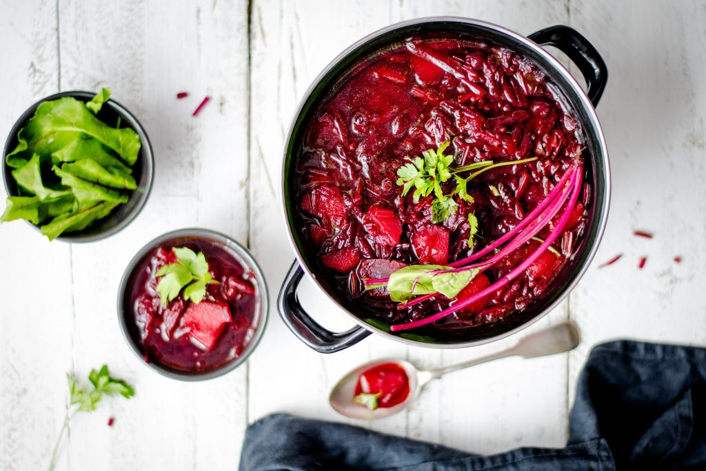 Bowl of Beetroot Soup